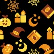 Halloween background,  vector illustration — Stock Photo