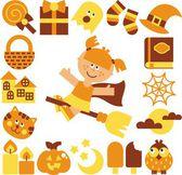 Halloween, vector illustration — Stock Photo