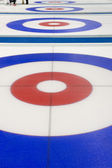 Curling target house — Stock Photo