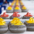 Foto Stock: Curling stones