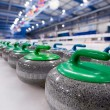 Curling stones — Foto de Stock