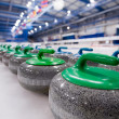 pedras de curling — Foto Stock