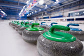 Curling stones — Foto Stock