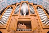 Elektrische orgel — Stockfoto