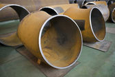 Large-diameter pipe — Stock Photo