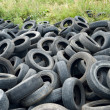 Old tyres - Stock Photo