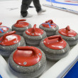 Stock Photo: Curling stones