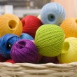 Colorful wools — Stock Photo