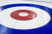 Curling background in the sports center — Stock Photo
