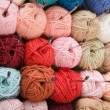 Varicolored wool - Stock Photo