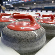 Curling stones — Stock Photo