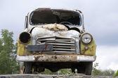 Eski model araba — Stok fotoğraf