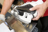 Skate sharpening — Stock Photo