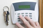 Hırsız alarmı — Stok fotoğraf