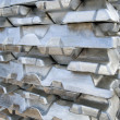 Ingots silver — Stock Photo