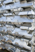 Ingots silver — Stock Photo