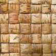Old wicker bark handmade for backgrounds — Stock Photo