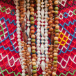 Bijouterie and a beads on the market - Stock Photo