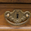 Old furniture handle — Stock Photo
