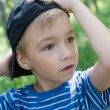 Royalty-Free Stock Photo: Boy with a cap