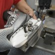 Skate sharpening - Stock Photo