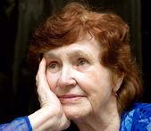 Büyükanne portresi — Stok fotoğraf
