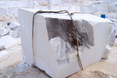Big block of a marble — Stock Photo