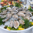 Stock Photo: Raw oyster