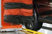 Lavagem de carro — Fotografia Stock