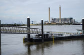 Gravesend Pontoon — Stock Photo