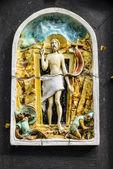 Shrine on Rosary Way at Aylesford Priory — Stock Photo