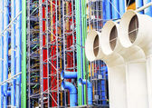 Georges Pompidou Center Paris — Stock Photo