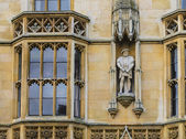 Facade of Kings College Cambridge — Stock Photo