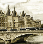 La Conciergerie Paris France — Stock Photo