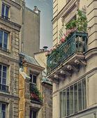 Old Apartment Blocks in Paris — Stock Photo