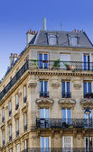 Pretty Apartment Block Paris France — Stock Photo