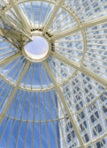 Modern Glass Domed Ceiling — Stock Photo