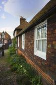 Pretty House In English Village — Stock Photo