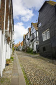 Cobbled Street In Rye, East Sussex — Stock Photo