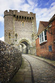 Traditional English Gate House — Stock Photo