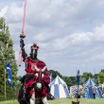 Постер, плакат: Tudor Knight Charging