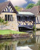 Enclosed Tudor Bridge — Stock Photo