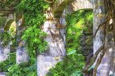 Stone Arches in Garden — Stockfoto