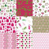 クリスマス デザインのコレクション — ストックベクタ