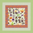 Royalty-Free Stock  : Cute halloween seamless patterns