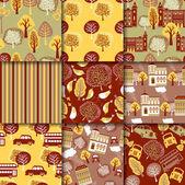 Autumn Collection — Stock Vector