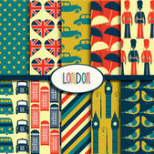 London Pattern Collection — Stockvector