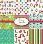 Merry Christmas Collection — Stock Vector