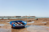 A boat at the beach — Stock fotografie