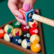 Billiards' elements — Stock Photo